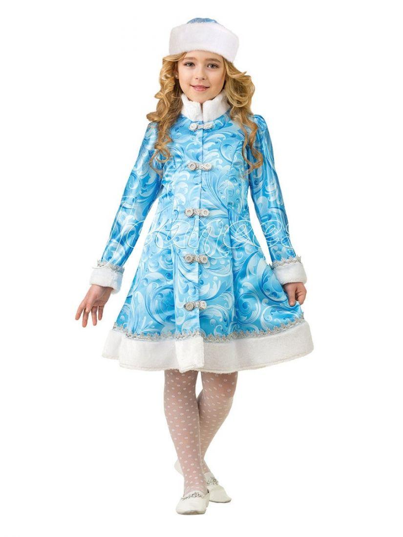 Детский костюм Снегурочки из сказки