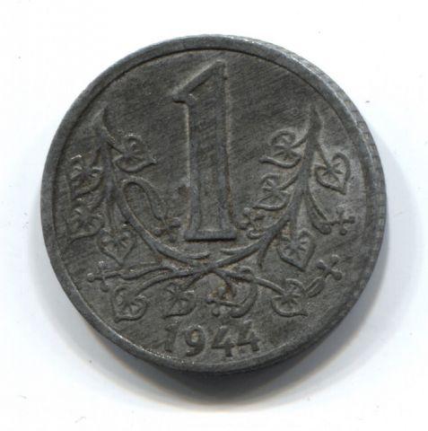 1 крона 1944 года Богемия и Моравия