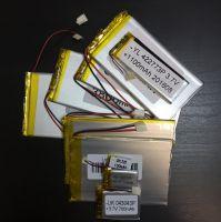 Аккумулятор технический универсальный (3.7 V/2000 mAh) (3 мм x 40 мм х 87 мм)