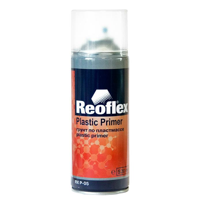 REOFLEX Грунт 1K по пластмассе, прозрачный, аэрозоль, 520мл.