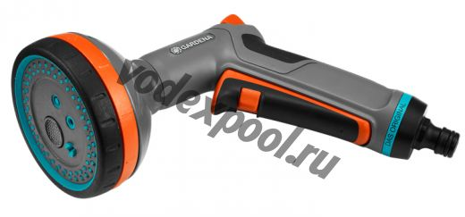 Пистолет-распылитель для полива многофункциональный Comfort (Дисплей)