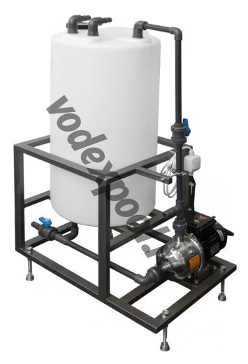 Блок промывки WWRO I #8.09.1.1 для установок WWRO-6001, 10001, 15001