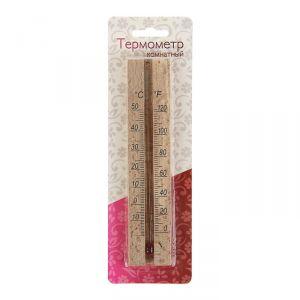 Деревянный термометр комнатный  в блистере (0 +50), 2545530