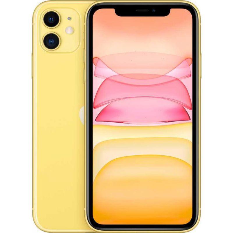 Смартфон Apple iPhone 11 256Gb (Yellow) (MWMA2RU/A)