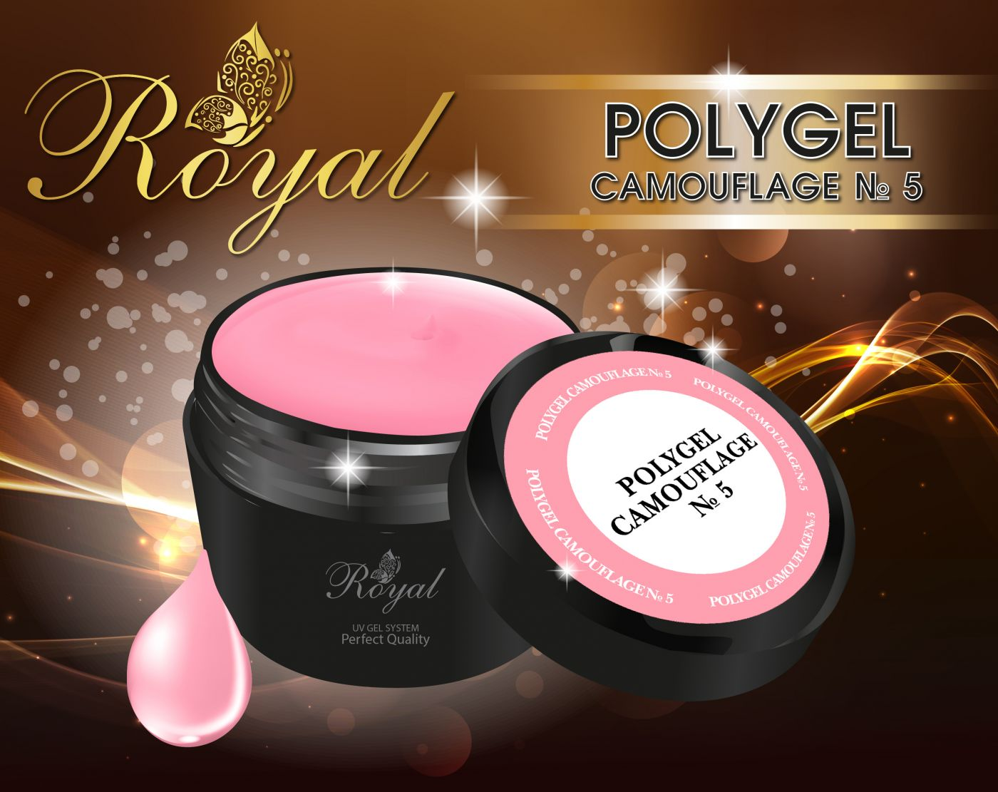 ACRYL GEL CAMOUFLAGE № 05 ROYAL