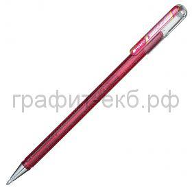 Ручка гелевая Pentel Hybrid Dual Metallic розовый + розовый металлик К110-DPX