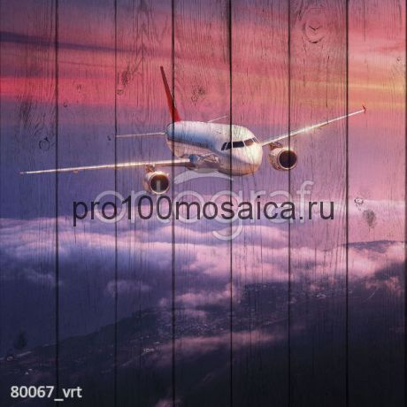 80067 Картина на досках серия АВИАЦИЯ