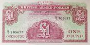 Англия - 1 фунт 1962 UNC ПРЕСС