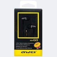 Вакуумные наушники Awei ES-Q3