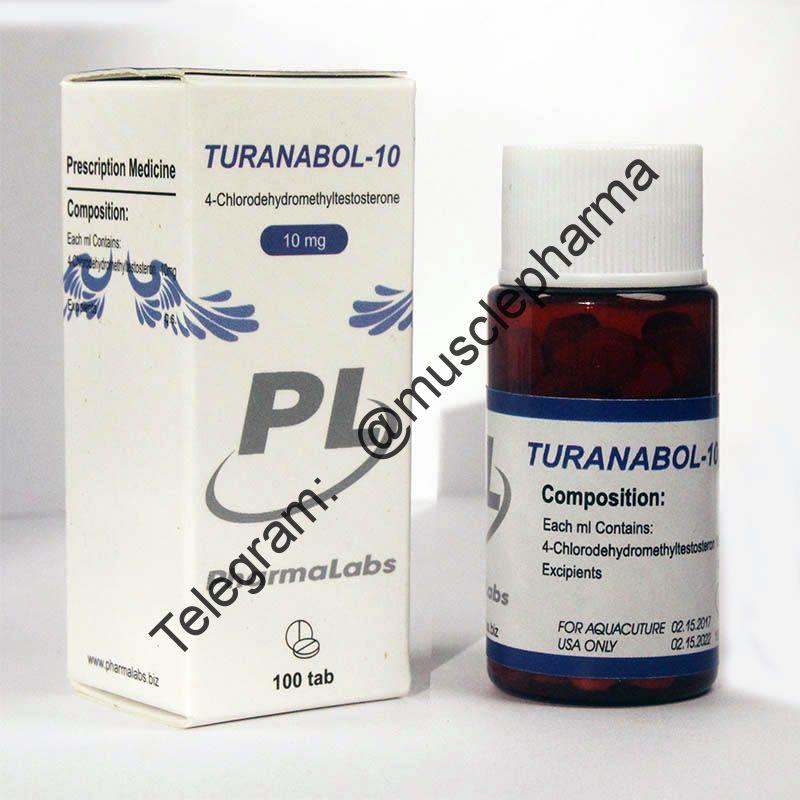 TURANABOL-10 (ТУРИНАБОЛ). PHARMALABS. 100 таб. по 10 мг.
