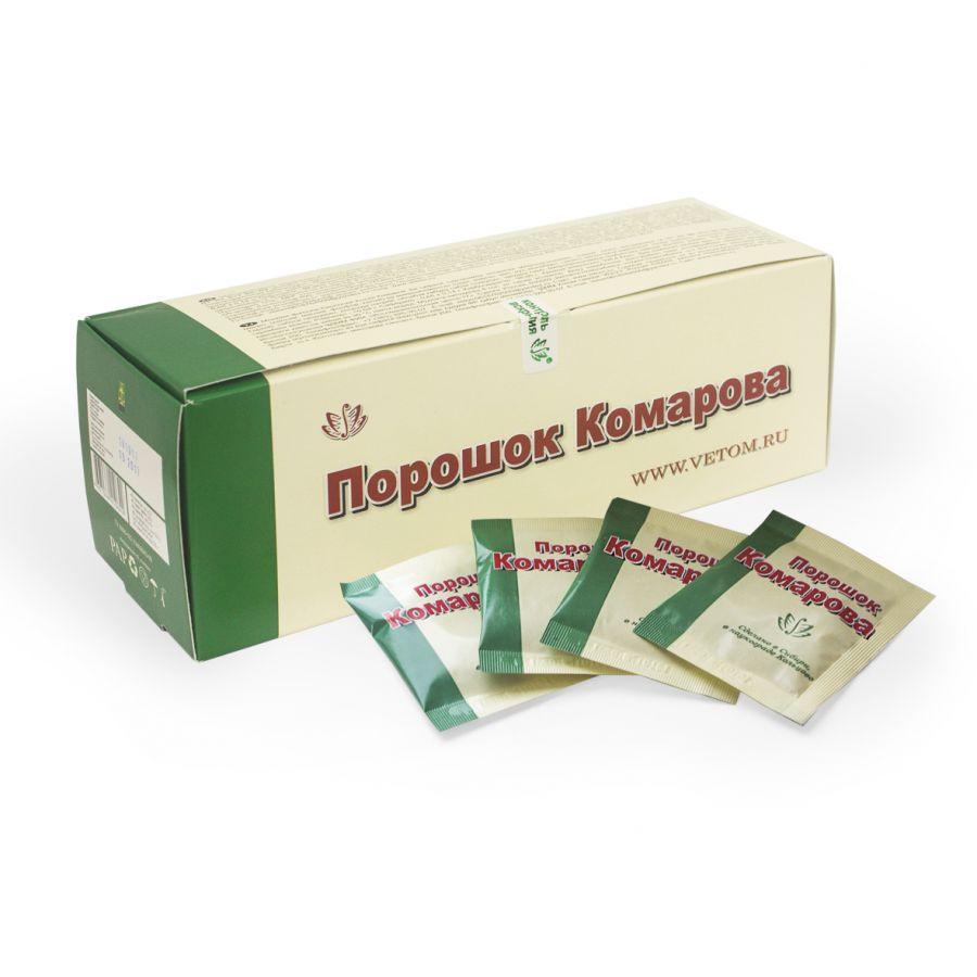 Порошок Комарова, коробка 40шт