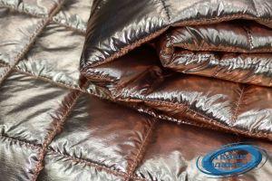 Стежка образец Стеганная Плащевая ткань фольга