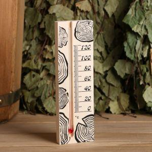 Термометр для бани, жидкостный, 165х50х15мм 4871021