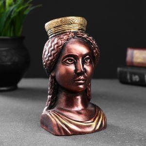"Фигура ""Богиня Тэхе (Судьба)"" бронза 12х10см 4877845"
