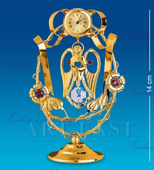 """Часы Ангел с хрусталиками """"Swarovski"""""""