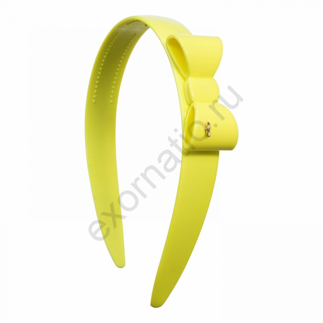Ободок Evita Peroni 5907706. Коллекция Splash Fluorescent Yellow