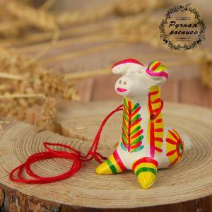 Филимоновская игрушка - свисток «Собака» 2818859