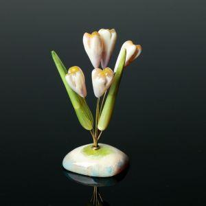 Цветы «Подснежники», 5 цветков, селенит 1462667