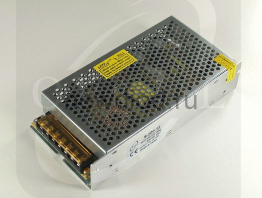 Блок питания PRO 200W.12V.16.5A.IP20 (Металлический корпус) OREOL