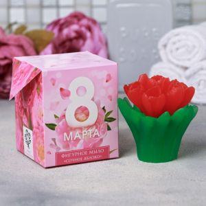 """Мыло """"8 Марта"""" букет тюльпанов"""