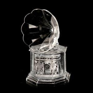 """Сувенир настольный подставка для ручки """"Триумфальная арка"""" граммофон 12,7х7,7х7,7 см   3527054"""