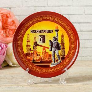 Тарелка декоративная «Нижневартовск. Алёша», d= 12 см