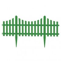 Забор декоративный Полимерсад-8 (цвет зелёный)_2