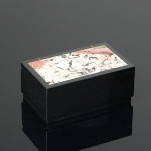 Шкатулка, 10х6х4 см яшма, долерит 482829