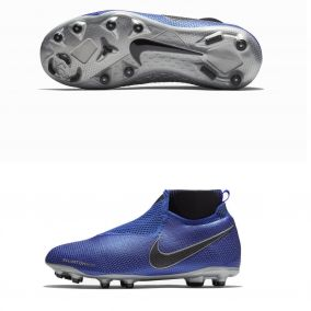 Детские бутсы NIKE PHANTOM VSN ELITE DF FG/MG AO3289-400 JR