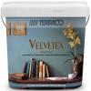 Декоративное Бархатное Покрытие Terraco Velvetex 5кг c Перламутровым Блеском / Террако Вельветекс