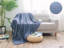 Плед велсофт Royal  plush 2-спальный 180*200  Арт.180/008-RP