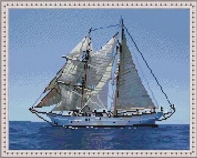 Алмазная мозаика на подрамнике LAG4333