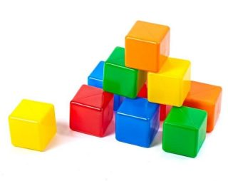 Набор кубиков - 2,10 шт.