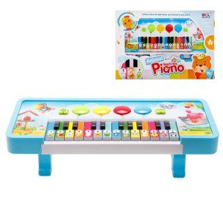 Пианино Зоопарк 24 клав., звук, батар.AA*3шт. в компл. не вх., кор.