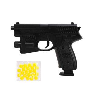 Пистолет мех., 158мм., 8 зарядов, п/пули 50шт.