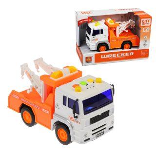 Машина Эвакуатор, инерц, свет, звук, эл.пит.AG13*3шт.не вх.в комплект, коробка