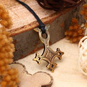 """Амулет из ювелирной бронзы """"Крест Туарегов"""" (защищает от всего неизвестного и опасного для жизни)"""