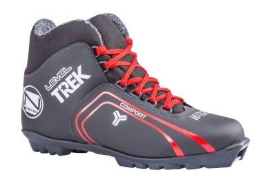 Лыжные ботинки TREK Level2 иск.кожа SNS