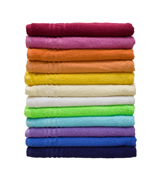 Махровое полотенце гладкокрашеное 40х70