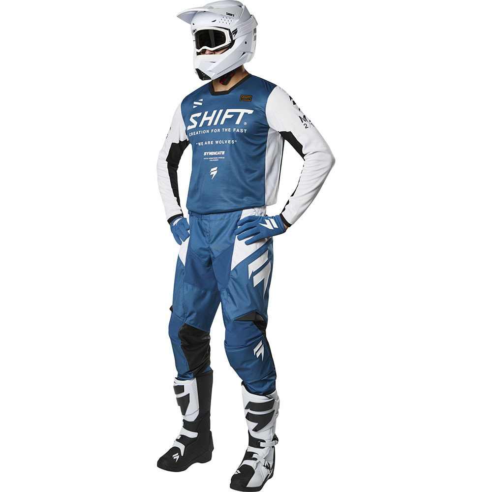 Shift - 2019 Whit3 Label Muse Blue комплект джерси и штаны, синие