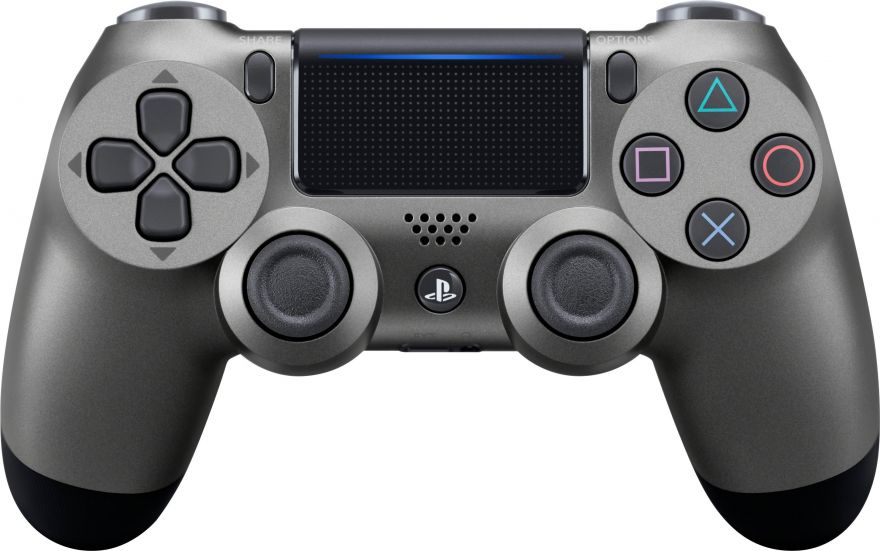 Геймпад Sony Dualshock 4 (ver.2) Steel Black (PS4)