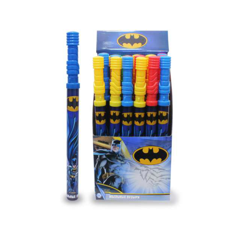 1toy Batman, мыльные пузыри, колба в термоплёнке, 120 мл