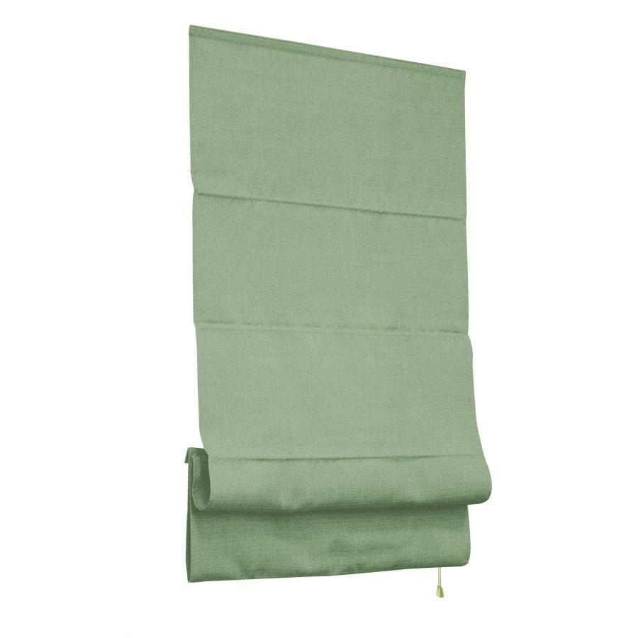 Римская тканевая штора, Лея, оливковый, 60x160 см,