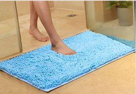 Коврик для ванной Chenille, 33*50 cм, голубой