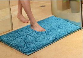 Коврик для ванной Chenille, 40*60 cм, синий