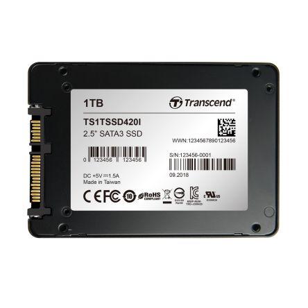 1TB индустриальный SSD-Накопитель Transcend 420 -40°C ~ 85°