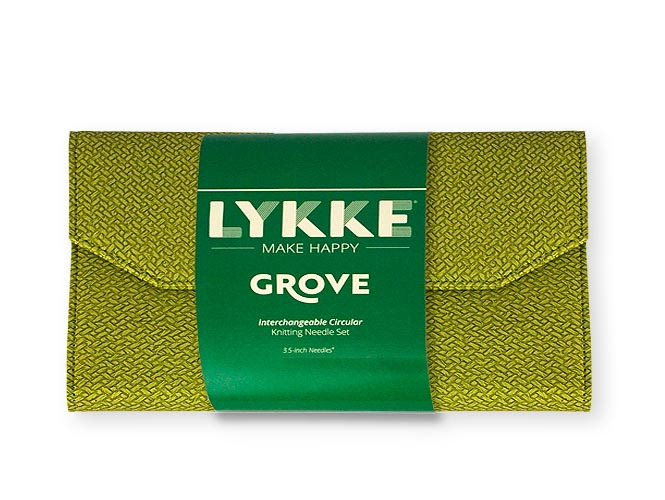 Набор разъемных спиц 11,5 см Grove Green LYKKE (LK.55244)