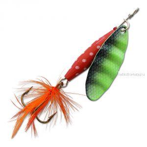 Блесна Abu Garcia Reflex Red 12 гр / цвет:  FL/Green
