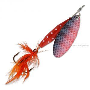 Блесна Abu Garcia Reflex Red 12 гр / цвет:  FL/OR