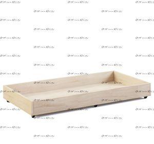 Ящик подкатной к кроватям домикам №KV, любые размеры